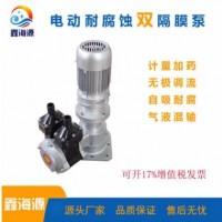 电动耐腐蚀双隔膜泵,自吸式隔膜计量泵